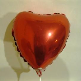 Balonik serce czerwone