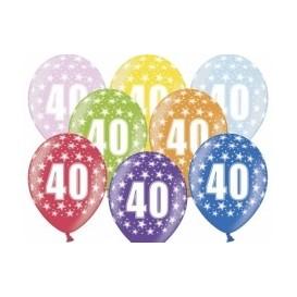 Balony 40 mix
