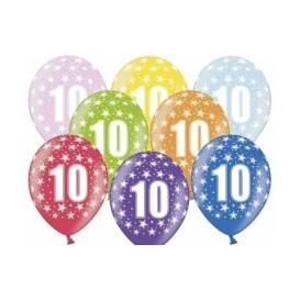 Balony dziesiątki