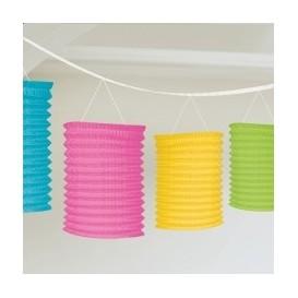 Kolorowa girlanda z lampionami