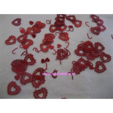 konfetti walentynkowe