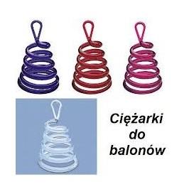 Ciężarek do balonów spirala