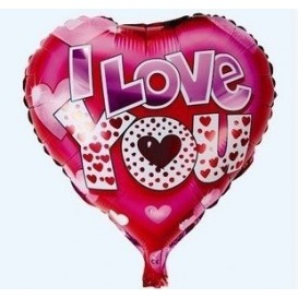 Balon foliowy I love you