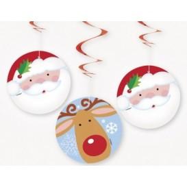 Spiralki świąteczne