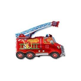 Balon wóz strażacki