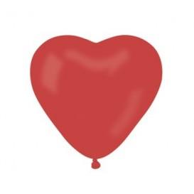balony czerwone serca