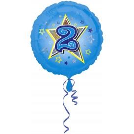 balon foliowy niebieska gwiazdka 1