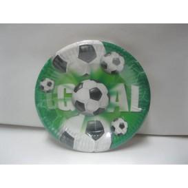 Talerzyki piłka nożna zielone
