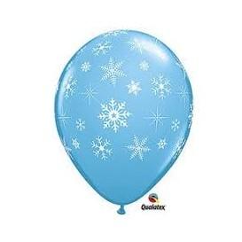 balony w śnieżki