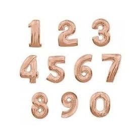 Balony cyfry 86cm złote
