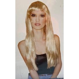 peruka długa blond