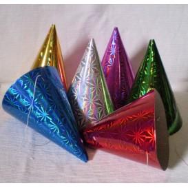 Czapka urodzinowa holograficzna