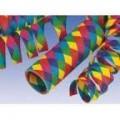 Papierowe serpentyny rąby
