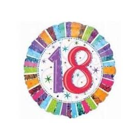 Balonik foliowy osiemnastka