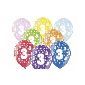 Balony trójeczki