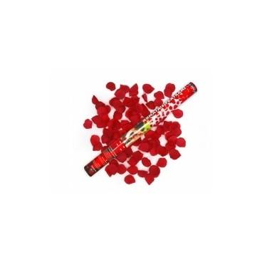 Wystrzałowe konfetti płatki róż